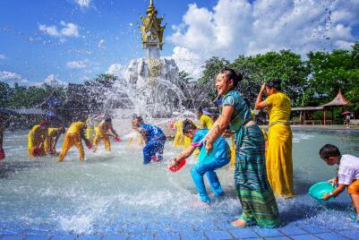 缅甸泼水节期间的注意事项